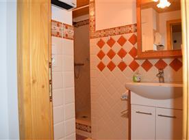 Další koupelna v podkroví