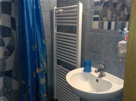 koupelna se sprchovým koutem - 1. patro