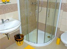 Žlutý pokoj č. 3 - koupelna
