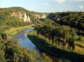 Krasový kaňon řeky Berounky, 8 km