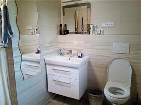 Bezbariérová koupelna v přízemí