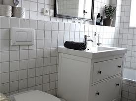 Apartmán A - koupelna