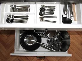 Apartmán A - Vybavení kuchyně