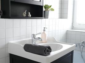 Apartmán B - detail koupelny