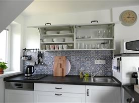 Apartmán B - detail kuchyňského koutu