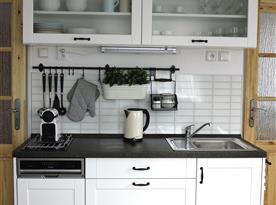 Apartmán A - kuchyňka