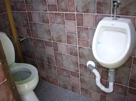 Toaleta na objektu