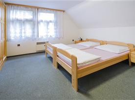 pokoj 4 lůžkový