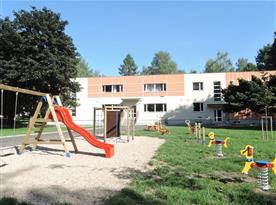 Kardašova Řečice - dětské hřiště