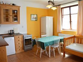 Kuchyně apartmán B