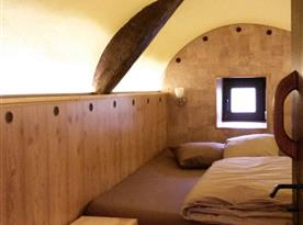 Malá ložnice v přízemí