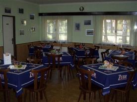 Pohled do restaurace