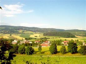 Výhled na okolí regionu Podkrkonoší