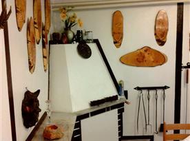 Apartmán A - krb v pokoji