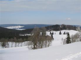 Zimní pohled do okolí