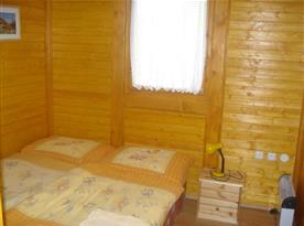 Šestilůžková chata - ložnice