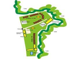 Pohled na mapu areálu