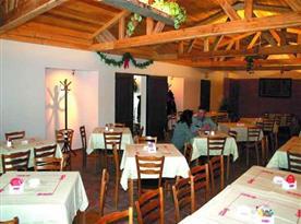 Restaurace v areálu