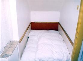 Malá ložnice B jen s lůžkem