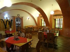 Hospůdka U Rybiček - v areálu ubytování