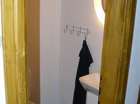 toaleta k pokoji Dvořák, Smetana a Páleníček