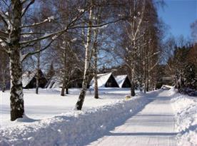Areál Dolce v zimě