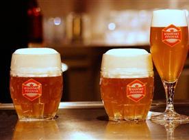 Pivo z vlastního pivovaru
