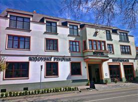 Hotel Kyjovský Pivovar jen kousek od centra města