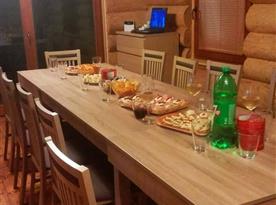 Jídelní kout ve společenské místnosti