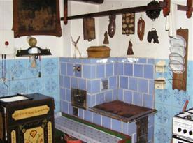 Kuchyně s pecí