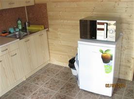 Chata A-D: Plně vybavená kuchyně