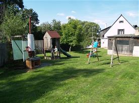 Vybavení pro děti na zahradě