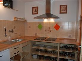 Kuchyňka pro pokoje 1+2