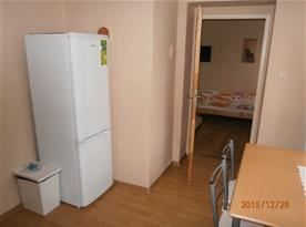 Kuchyně s lednicí apt. pro 8 osob