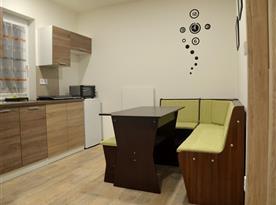 Apartmán Laura - kuchyně