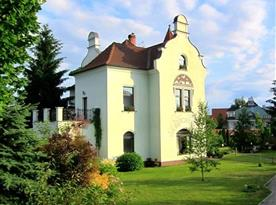 Vila v secesním stylu