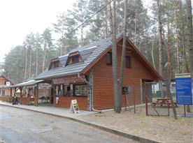 restaurace v osadě, 250m od chaty
