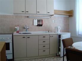 Kuchyňka součástí apartmánu