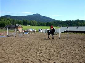 Koně k Malevilu neodmyslitelně patří.