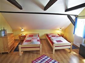 Apartmá v penzionu Pražačka.