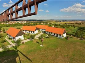 Slovácké chalupy nabízí ubytování ve dvoulůžkových pokojích