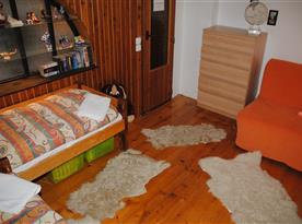 Chata Lucie - dětský pokoj v prvním patře