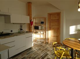 2. NP - Apartmán SUNRISE - kuchyňský kout