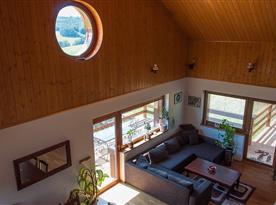 Obývací pokoj z galerie
