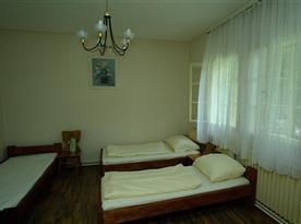 Vesnický jednoduchý pokoj