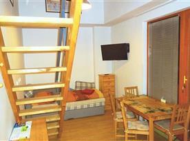 Interiér apartmánu č. 32