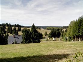 Výhledy z chaty