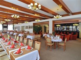 Velká hotelová restaurace