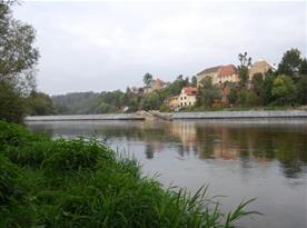 Pohled na řeku Sázavu