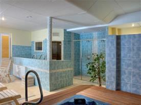 Wellness centrum s relaxační zónou